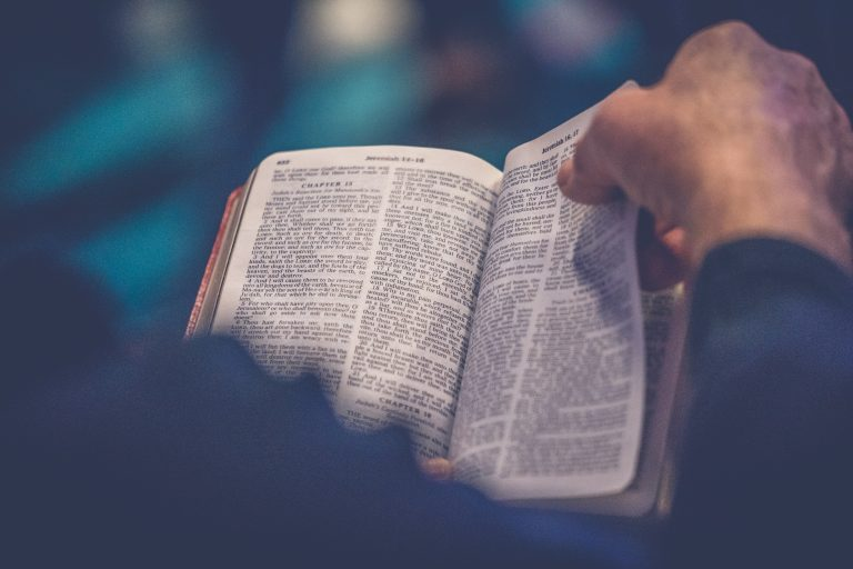 Where do we begin with the Bible?