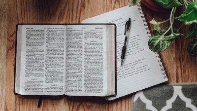 The Bible is our guide to perfect communion with God